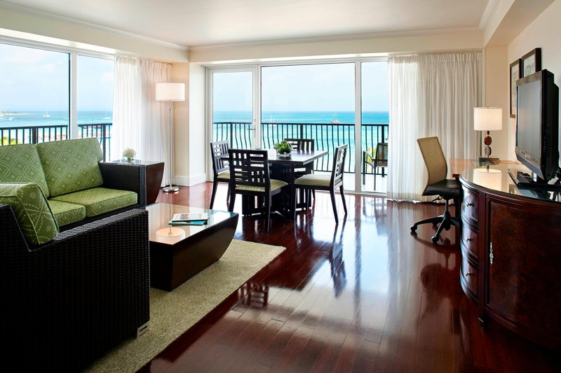Aruba Marriott Resort - Governor's Suite - Living Area <br/>Image from Leonardo