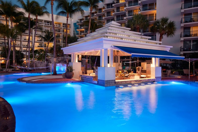 Aruba Marriott Resort - Swim-Up Bar <br/>Image from Leonardo