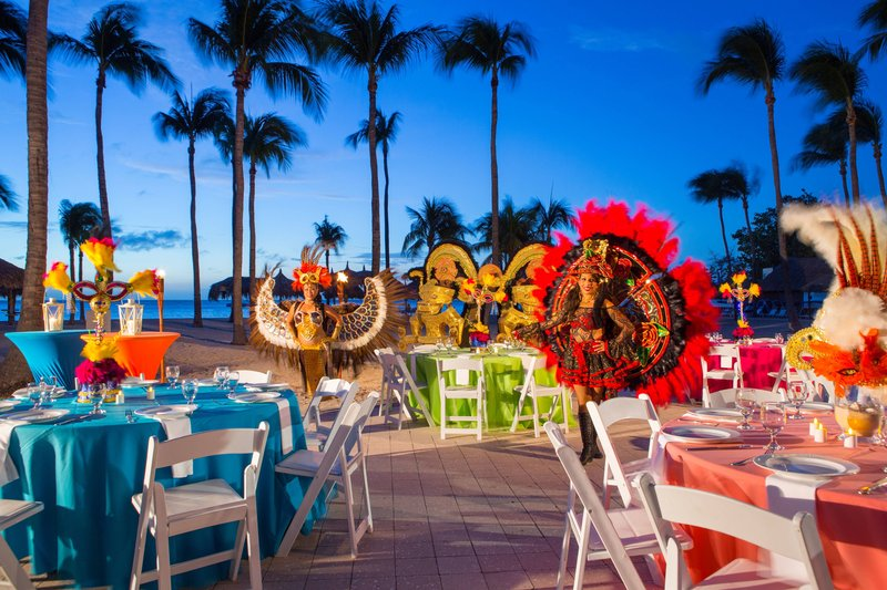 Aruba Marriott Resort - Outdoor Carnival Themed Event <br/>Image from Leonardo