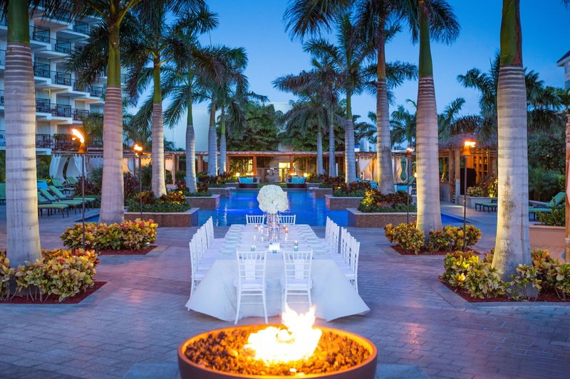 Aruba Marriott Resort - Outdoor Dinner Reception <br/>Image from Leonardo