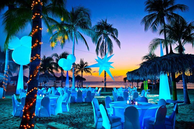 Aruba Marriott Resort - Outdoor Themed Event <br/>Image from Leonardo