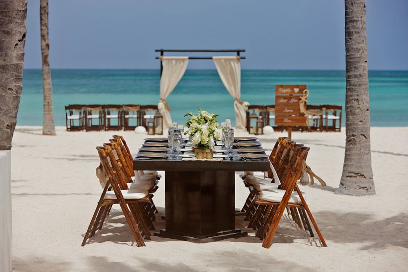Aruba Marriott Resort - Aruba Beach Wedding Setup <br/>Image from Leonardo