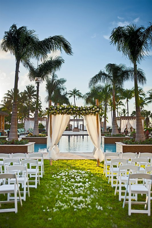 Aruba Marriott Resort - Wedding Set Up <br/>Image from Leonardo