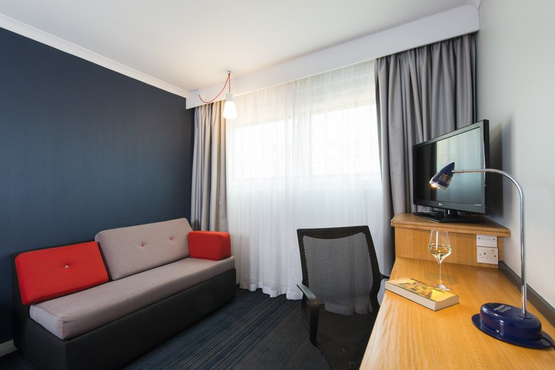 Holiday Inn Express Stoke On Trent-Unwind in your comfy room with a glass of wine and a book<br/>Image from Leonardo