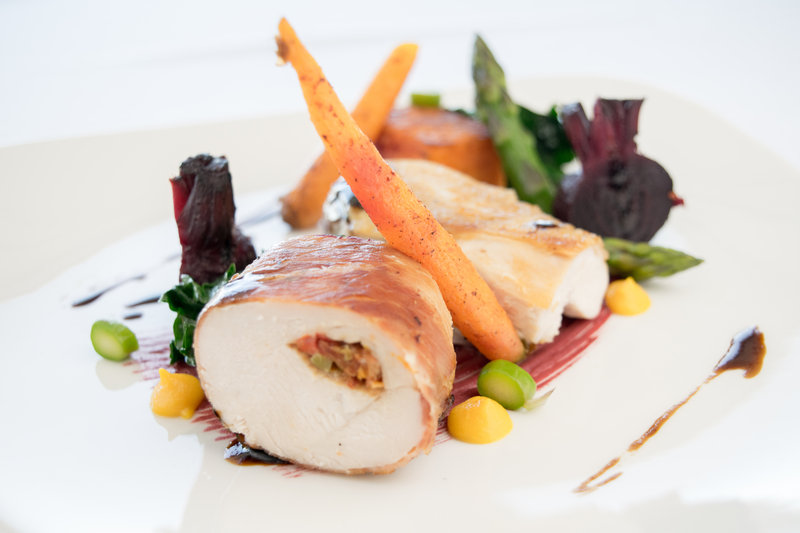 Holiday Inn Southend-Chicken Wrapped in Parma Ham<br/>Image from Leonardo