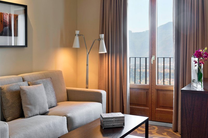 Renaissance Tuscany Il Ciocco Resort And Spa-One-Bedroom Suite Living Area<br/>Image from Leonardo