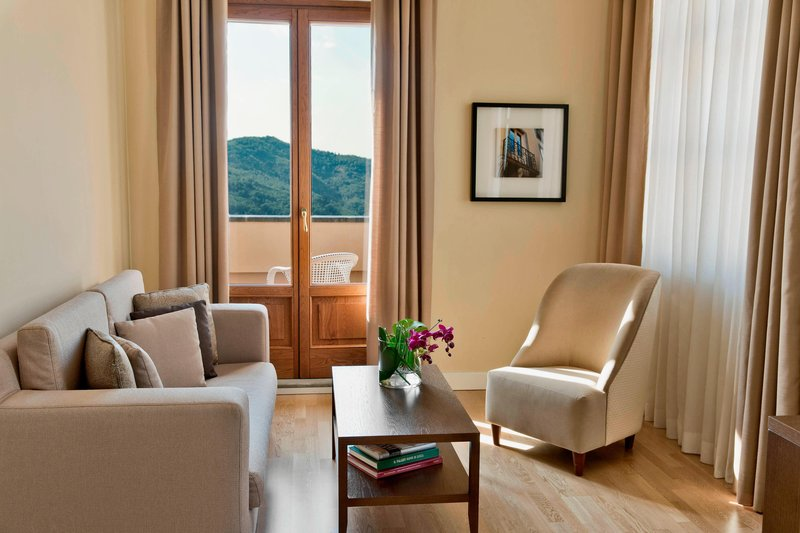 Renaissance Tuscany Il Ciocco Resort And Spa-Presidential Suite Living Area<br/>Image from Leonardo