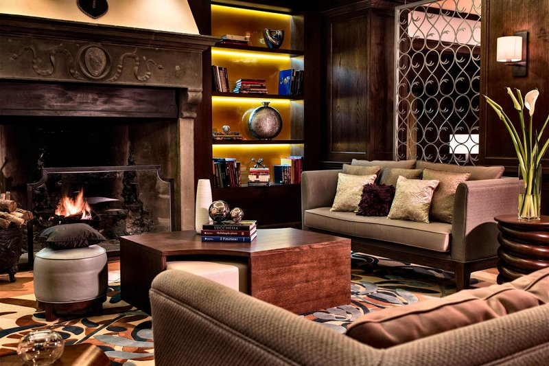 Renaissance Tuscany Il Ciocco Resort And Spa-Library Lounge<br/>Image from Leonardo