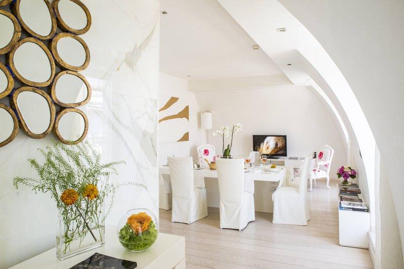 Boscolo Exedra Nice-Presidential Suite - Dining Area<br/>Image from Leonardo