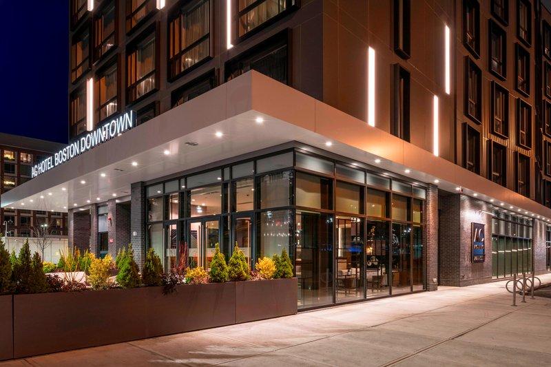 AC Hotel Boston Downtown-Entrance<br/>Image from Leonardo