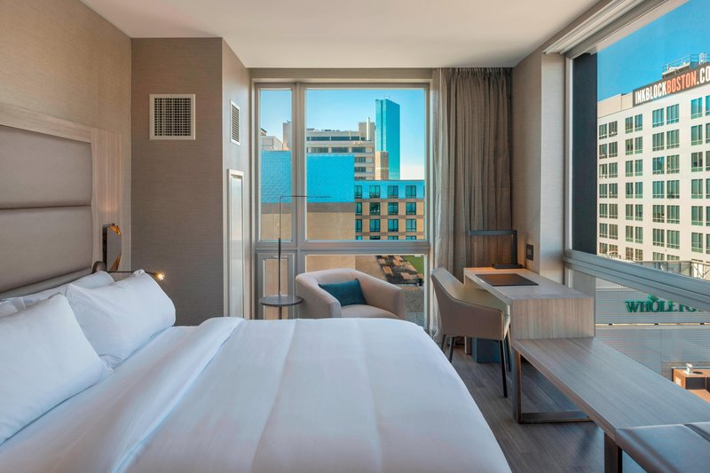 AC Hotel Boston Downtown-Corner King City View Guest Room<br/>Image from Leonardo