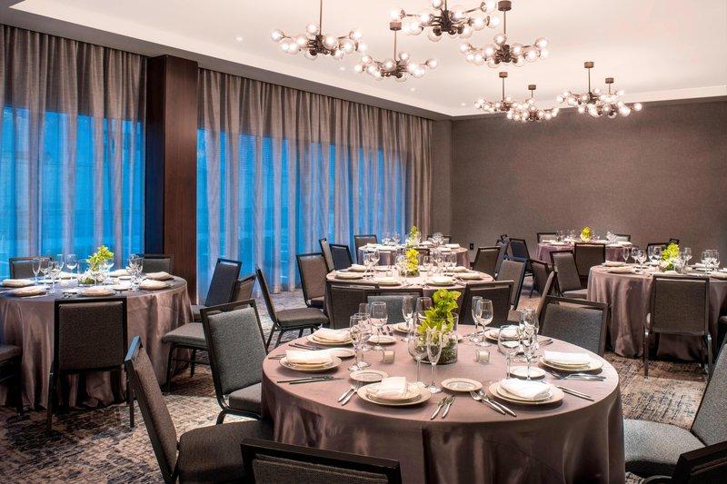 AC Hotel Boston Downtown-Barclay Room - Banquet Setup<br/>Image from Leonardo