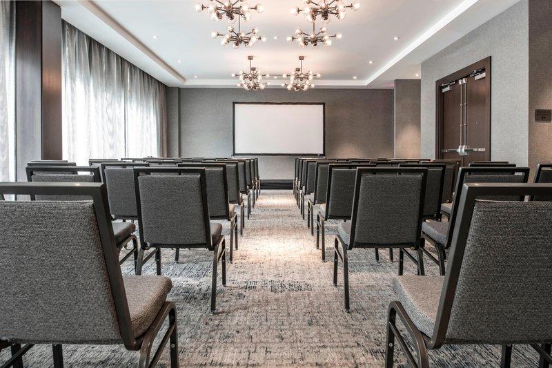 AC Hotel Boston Downtown-Barclay Room - Theater Setup<br/>Image from Leonardo
