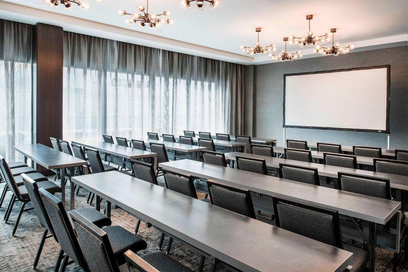 AC Hotel Boston Downtown-Barclay Meeting Room - School Room Setup<br/>Image from Leonardo