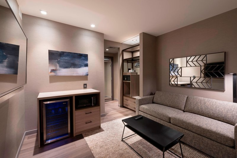 AC Hotel Boston Downtown-One-Bedroom King Suite - Living Area<br/>Image from Leonardo