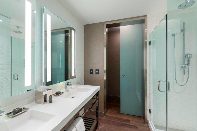 AC Hotel Boston Downtown-Suite Bathroom<br/>Image from Leonardo