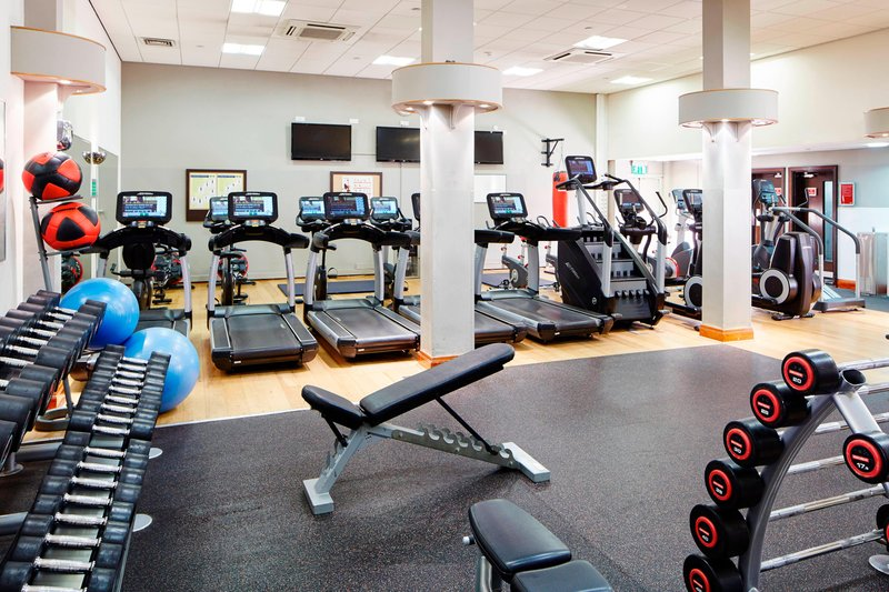 Marriott Cardiff Hotel-Fitness Center<br/>Image from Leonardo