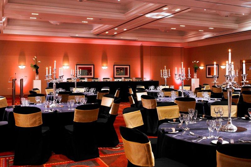 Marriott Cardiff Hotel-Banqueting<br/>Image from Leonardo