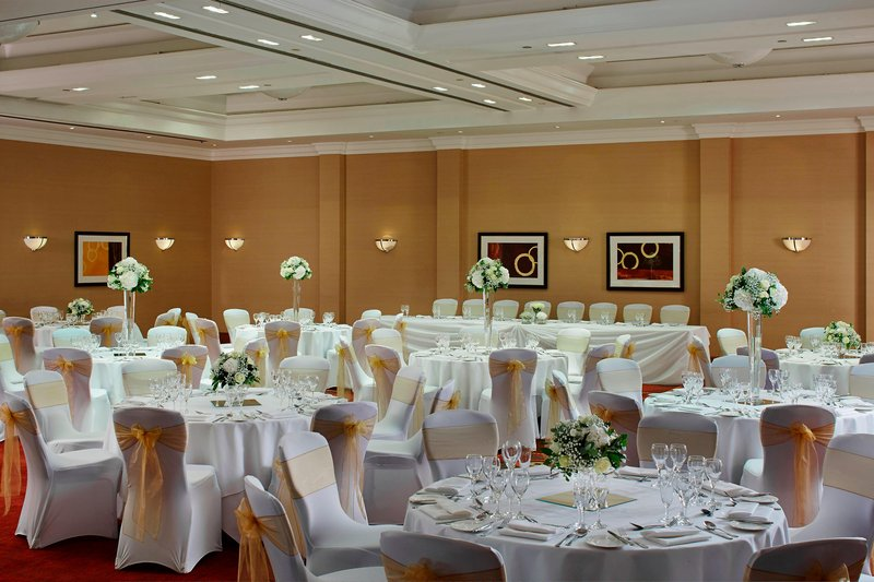 Marriott Cardiff Hotel-Bardd Suite - Wedding Reception<br/>Image from Leonardo