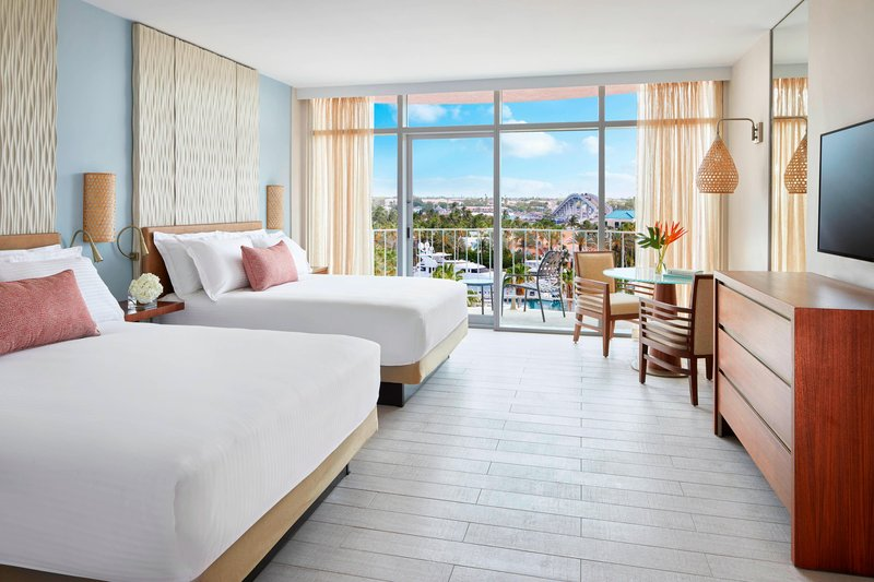 The Coral At Atlantis - Premium Queen/Queen Guest Room <br/>Image from Leonardo