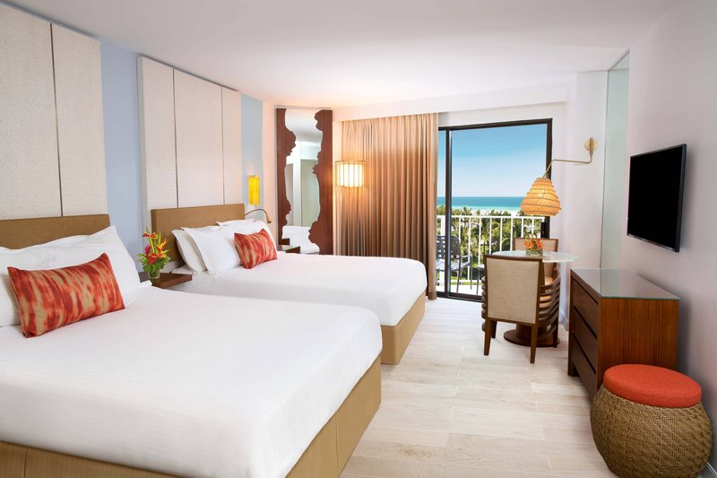 The Coral At Atlantis - Queen/Queen Guest Room <br/>Image from Leonardo