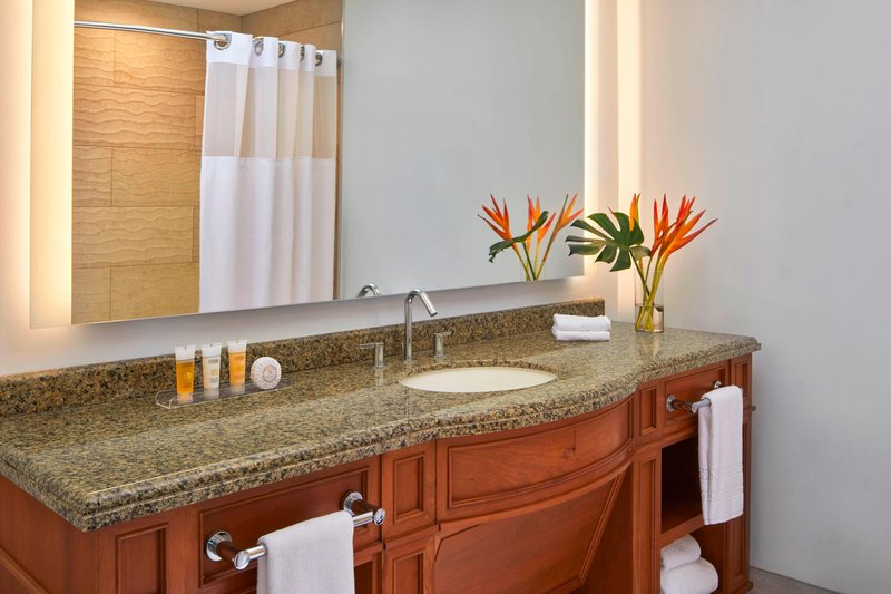 The Coral At Atlantis - Guest Bathroom <br/>Image from Leonardo