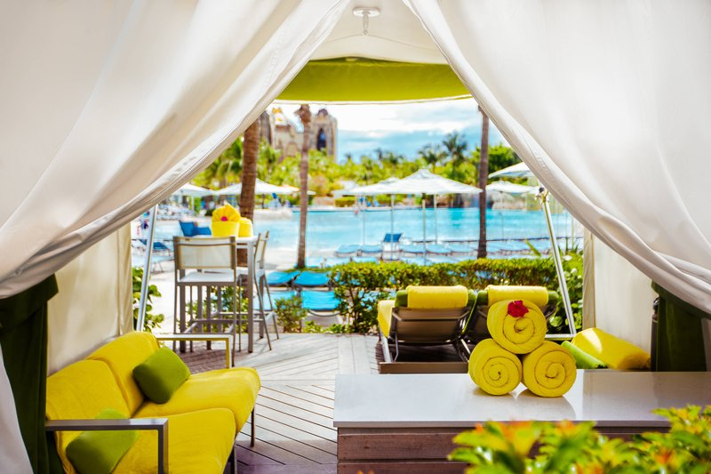 The Coral At Atlantis - Private Cabana <br/>Image from Leonardo