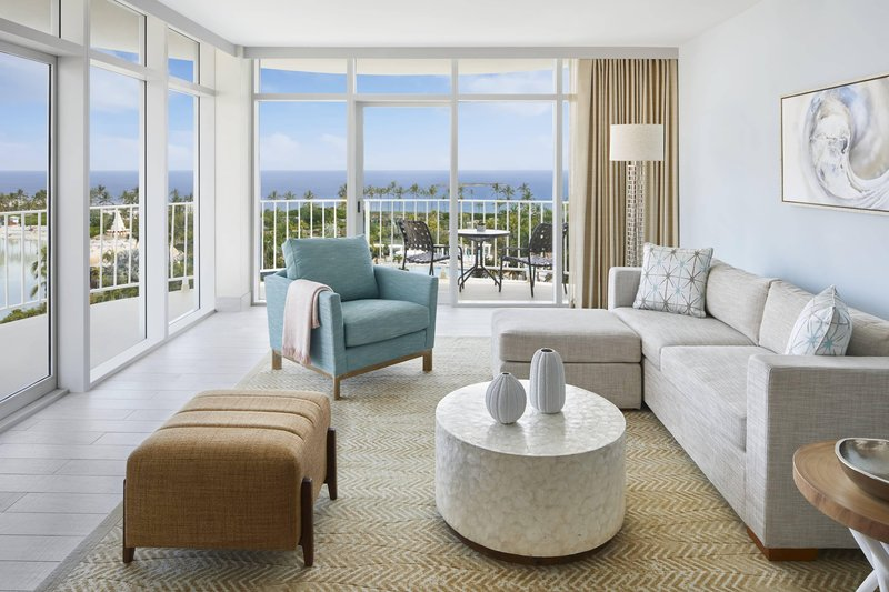 The Coral At Atlantis - Premium Regal Suite - Living Room <br/>Image from Leonardo