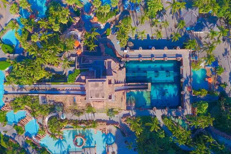 The Coral At Atlantis - Aquaventure Overhead <br/>Image from Leonardo