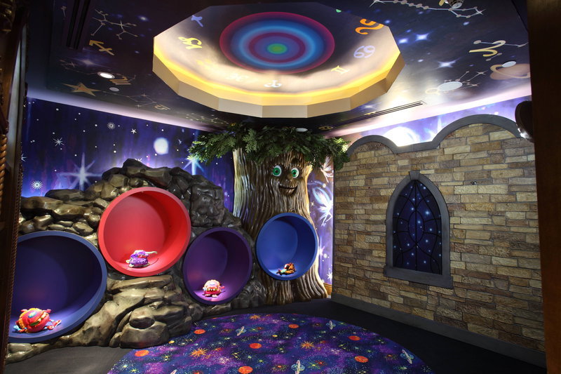 The Coral At Atlantis - Atlantis Kids Adventures - Wizardology Room <br/>Image from Leonardo
