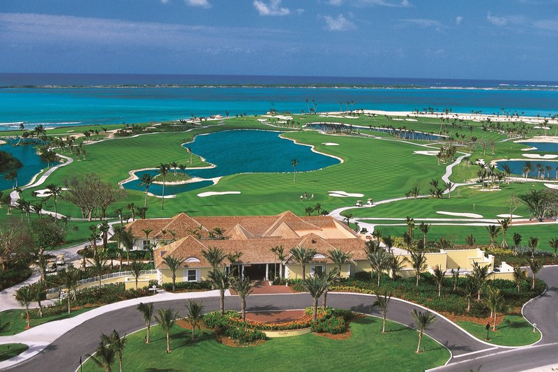 The Coral At Atlantis - Ocean Club Golf Course Aerial View <br/>Image from Leonardo