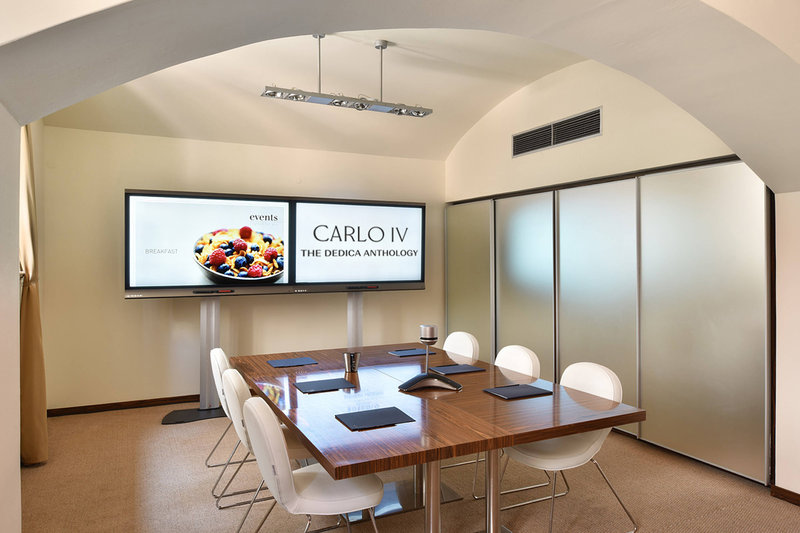 Carlo IV, Dedica Anthology Autograph Collection - Interactive Touch-Screen Smart Board <br/>Image from Leonardo