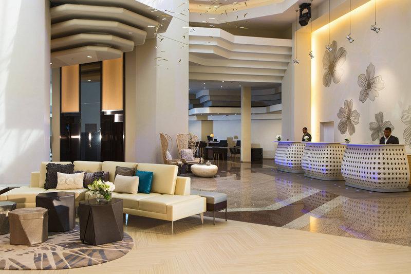 Renaissance St Domingo Jaragua Hotel-Front Desk<br/>Image from Leonardo