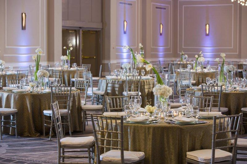 Renaissance St Domingo Jaragua Hotel-Anacoana Ballroom - Reception Setup<br/>Image from Leonardo