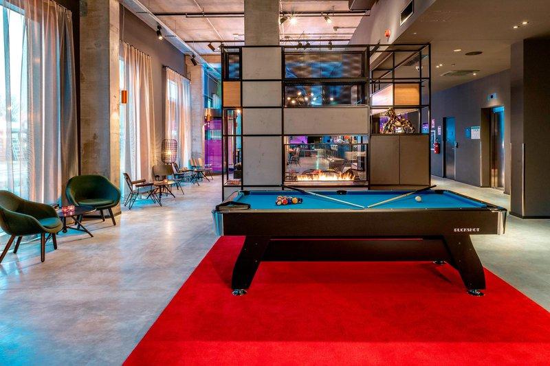 Moxy Milan Linate Airport-Living Room<br/>Image from Leonardo
