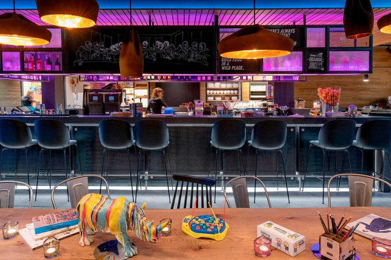 Moxy Milan Linate Airport-Day Bar<br/>Image from Leonardo