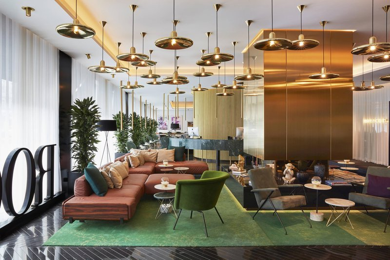 Autograph Collection Roomers Munich-Lobby Seating<br/>Image from Leonardo