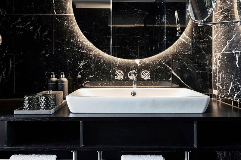 Autograph Collection Roomers Munich-Guest Bathroom - Vanity<br/>Image from Leonardo