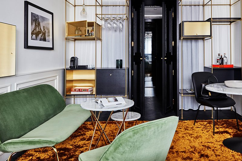 Autograph Collection Roomers Munich-Superior Suite - Living Area<br/>Image from Leonardo