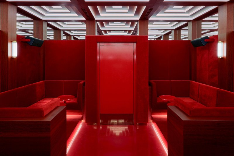 Autograph Collection Roomers Munich-RED Room - Hidden Room Seating<br/>Image from Leonardo