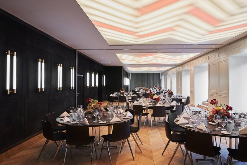 Autograph Collection Roomers Munich-Auditorium Meeting Room - Banquet Setup<br/>Image from Leonardo