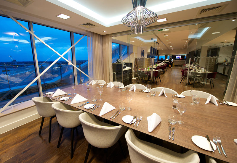 Holiday Inn Southend-The Boardroom is located on the 5th floor overlooking the airport<br/>Image from Leonardo
