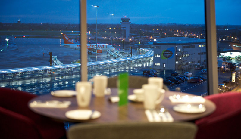 Holiday Inn Southend-The top floor offers amazing views of the airport and local area.<br/>Image from Leonardo