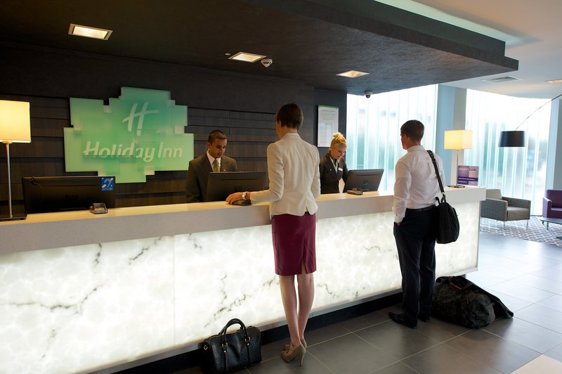 Holiday Inn Southend-welcome at the front desk of Holiday Inn Southend<br/>Image from Leonardo