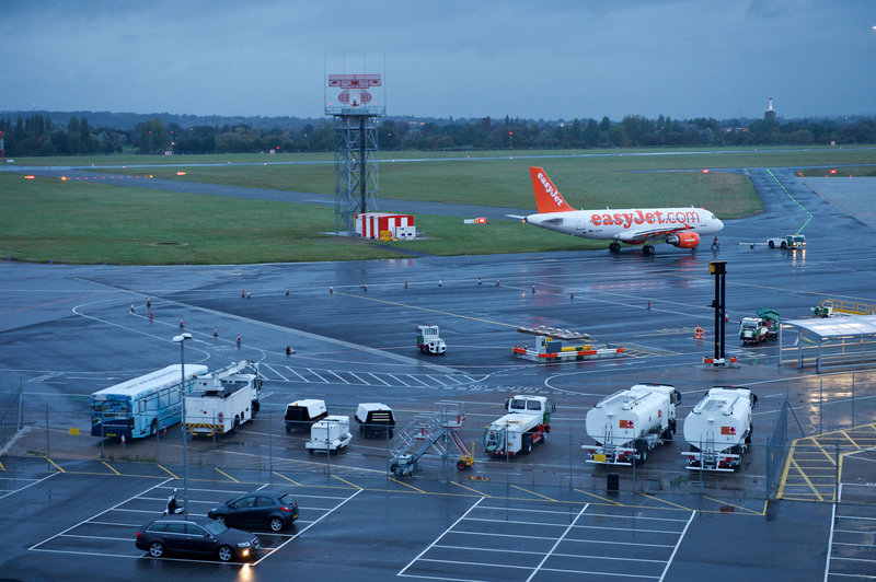 Holiday Inn Southend-Airport View from Hotel<br/>Image from Leonardo