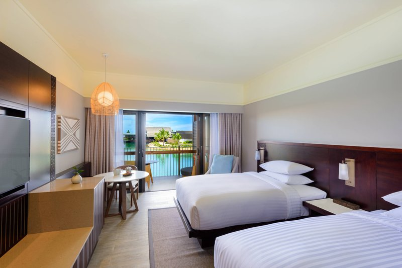 Fiji Marriott Resort Momi Bay-Double/Double Deluxe Lagoon View Guest Room<br/>Image from Leonardo