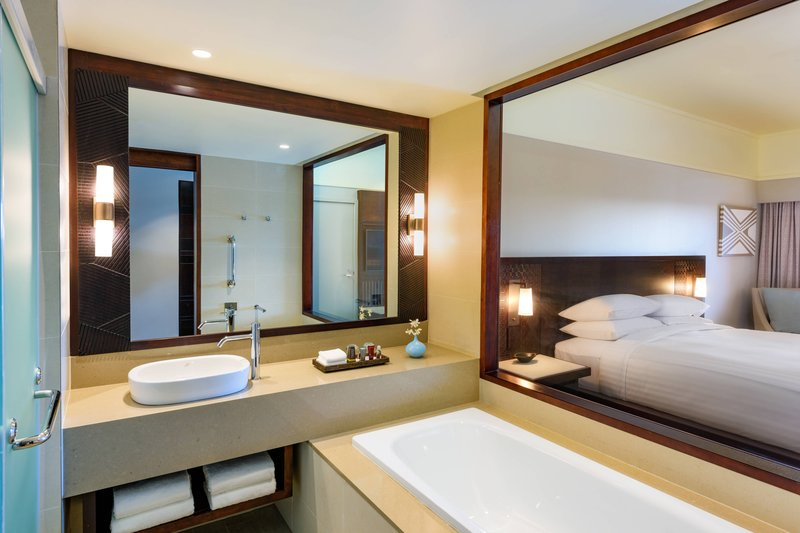 Fiji Marriott Resort Momi Bay-King Deluxe Lagoon View Guest Room - Bathroom<br/>Image from Leonardo