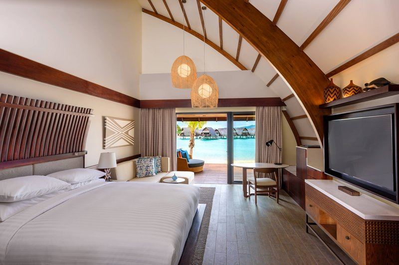 Fiji Marriott Resort Momi Bay-King Duplex Lagoon Front Bure Guest Room<br/>Image from Leonardo