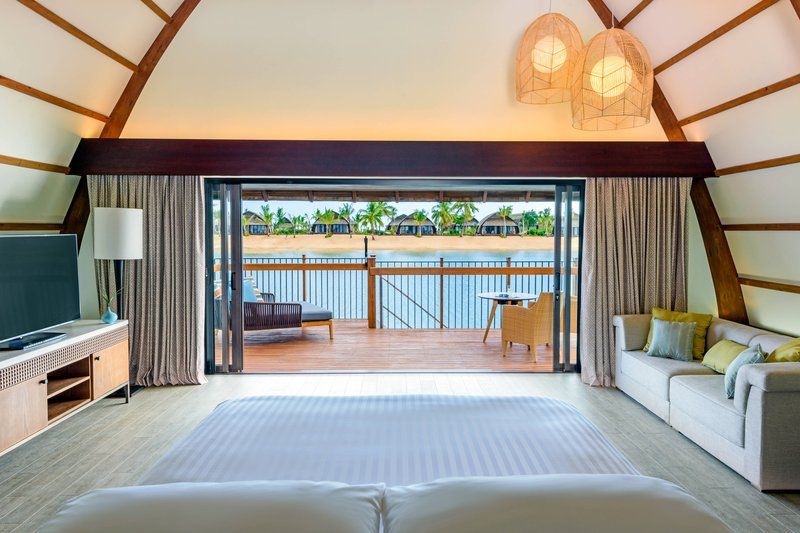 Fiji Marriott Resort Momi Bay-Over-Water Royal Suite - Bedroom<br/>Image from Leonardo