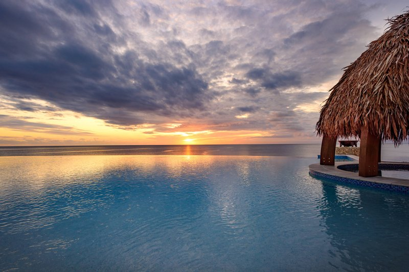 Fiji Marriott Resort Momi Bay-Sunset Outdoor Pool<br/>Image from Leonardo